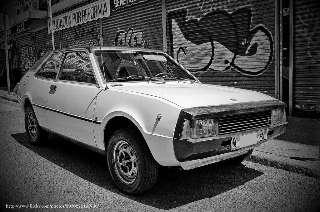 "Photo de la Seat 1200 Sport ""Bocanegra"""