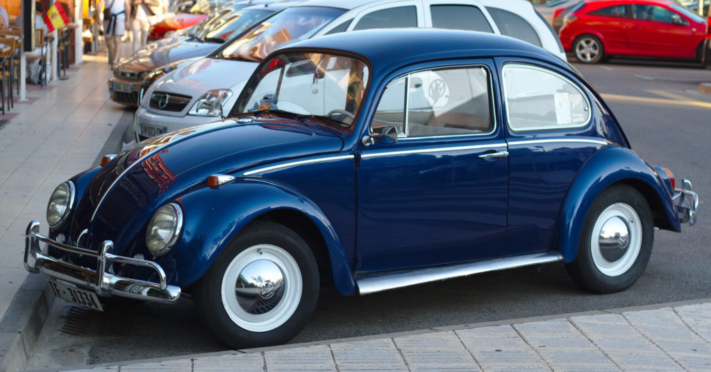 Photo d'une Cocinnelle Volkswagen Type 1